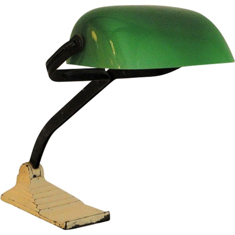 Vintage desk lamp Belgian by Erpe, 1940s