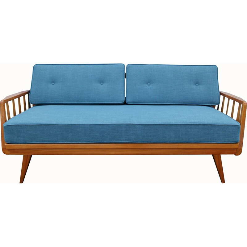 Vintage daybed in cherrywood Knoll 1950s