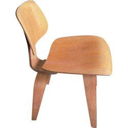 Herman Miller DCW chair in wood, Charles EAMES - 1945
