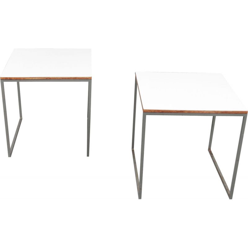 Vintage pair of side tables by Pastoe,Netherlands,1960