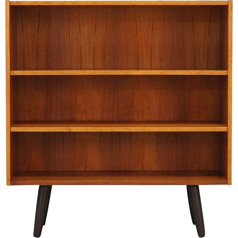 Scandinavian vintage bookcase in teak