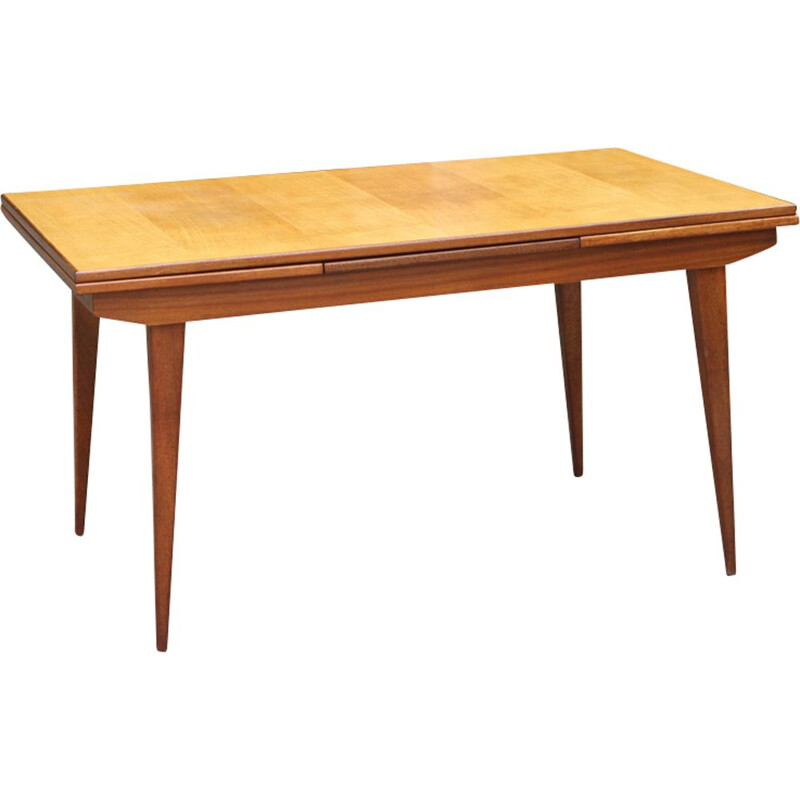 Vintage Scandinavian extensible dining table,1960