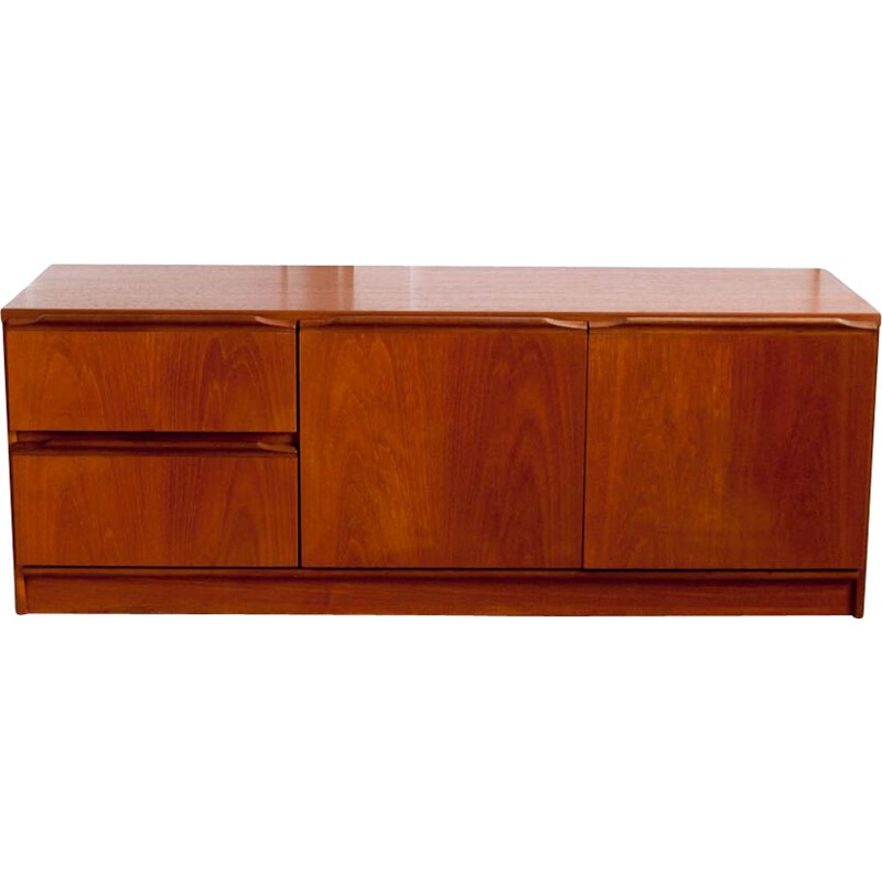 Vintage teak TV cabinet from the 60s