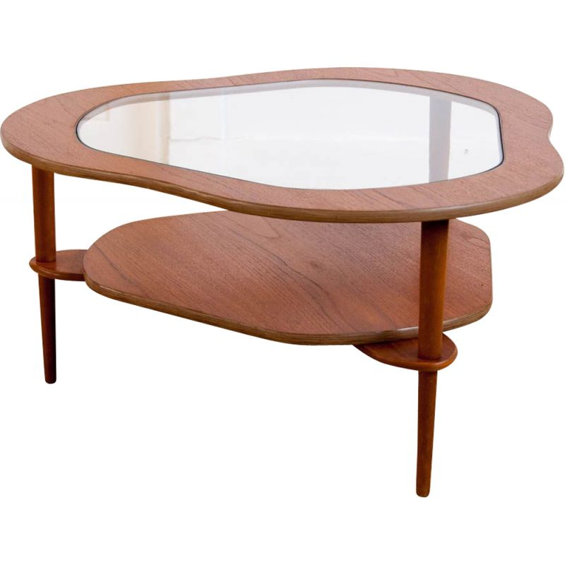 Vintage 3 legs coffee table from the 60's