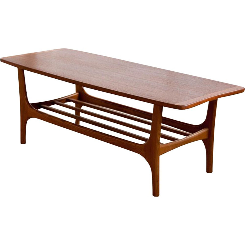 Vintage scandinavian coffee table from the 60s