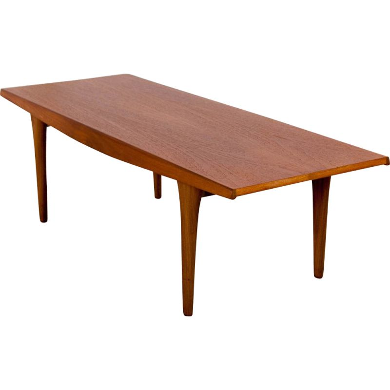 Vintage coffee table with spindle base,1960