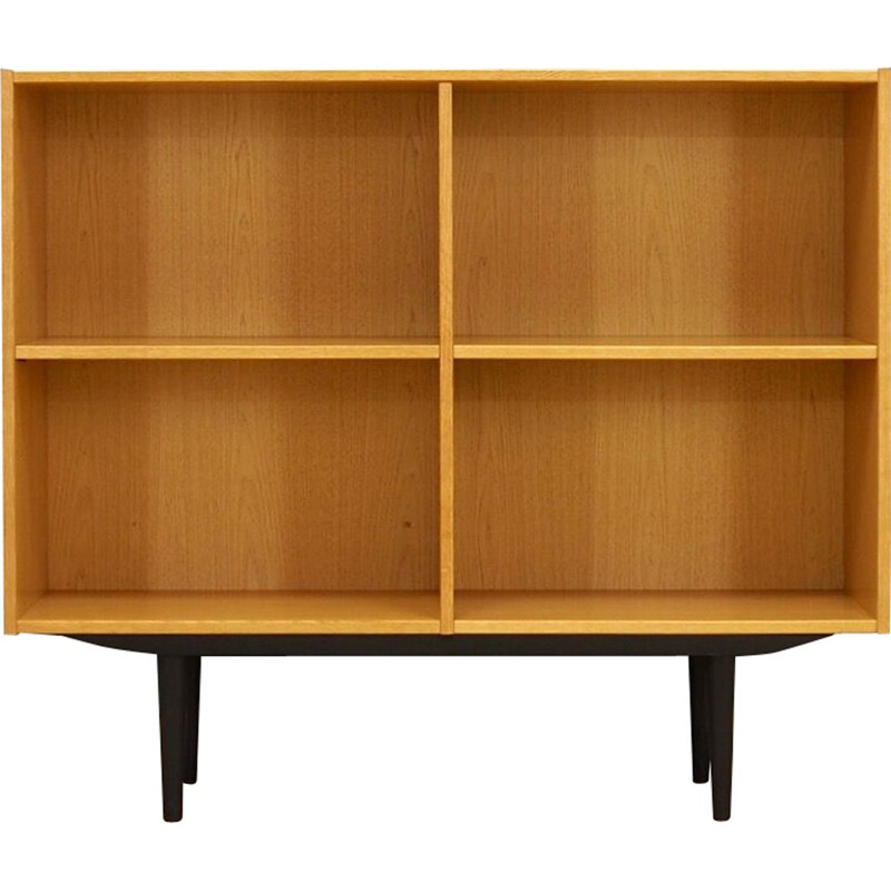 Vintage Bookcase in ash Retro 1960-70s