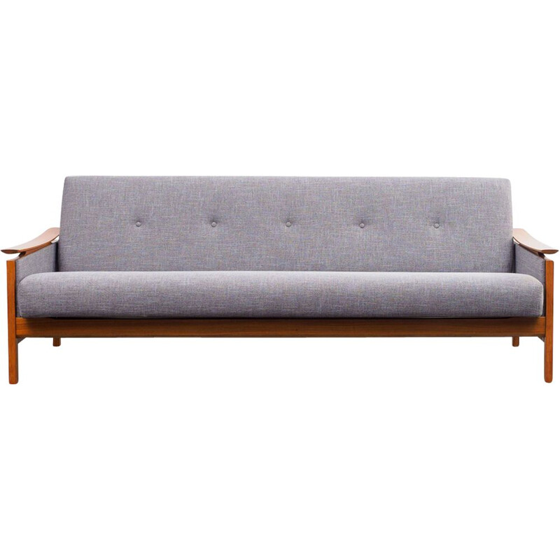 Vintage sofa with fold-out daybed Germany 1960s