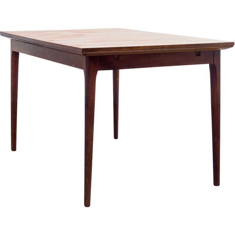 Vintage dining table in rosewood, 1960s