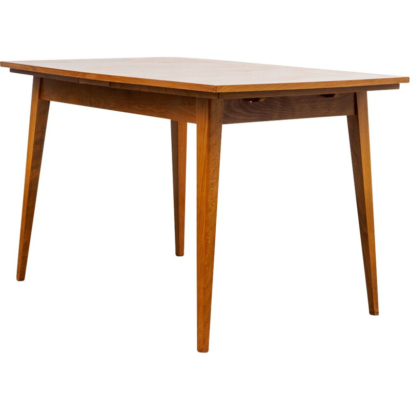 Vintage dining table in walnut 1960s
