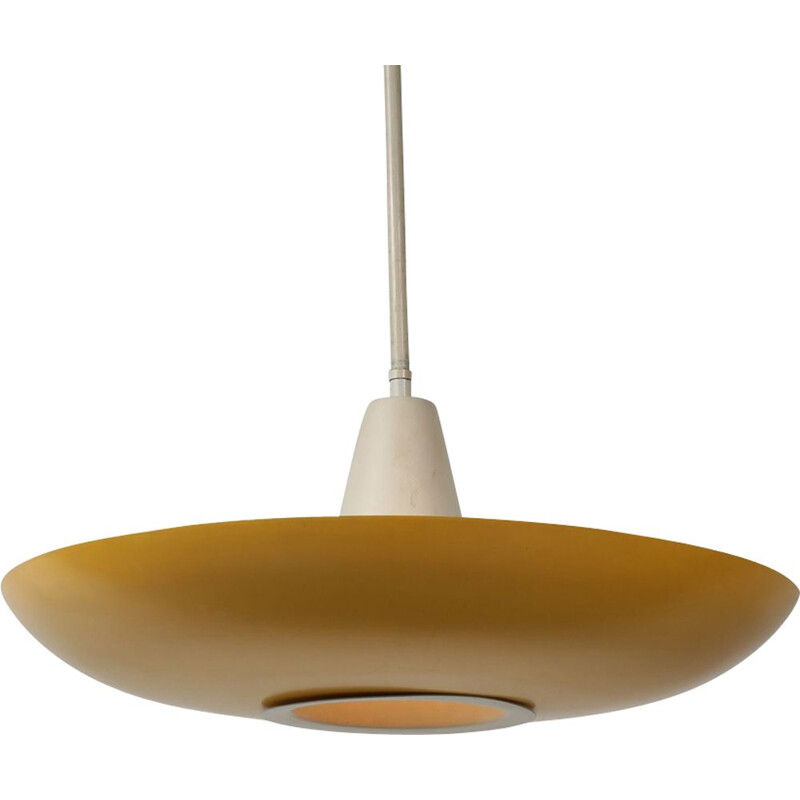 Vintage pendant light by Louis Kalff for Philips,Netherlands,1950