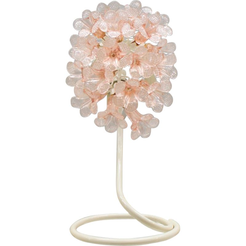 In Pink Murano Glass 6fy7ygbv Table Vintage Lamp c3uJl15FTK