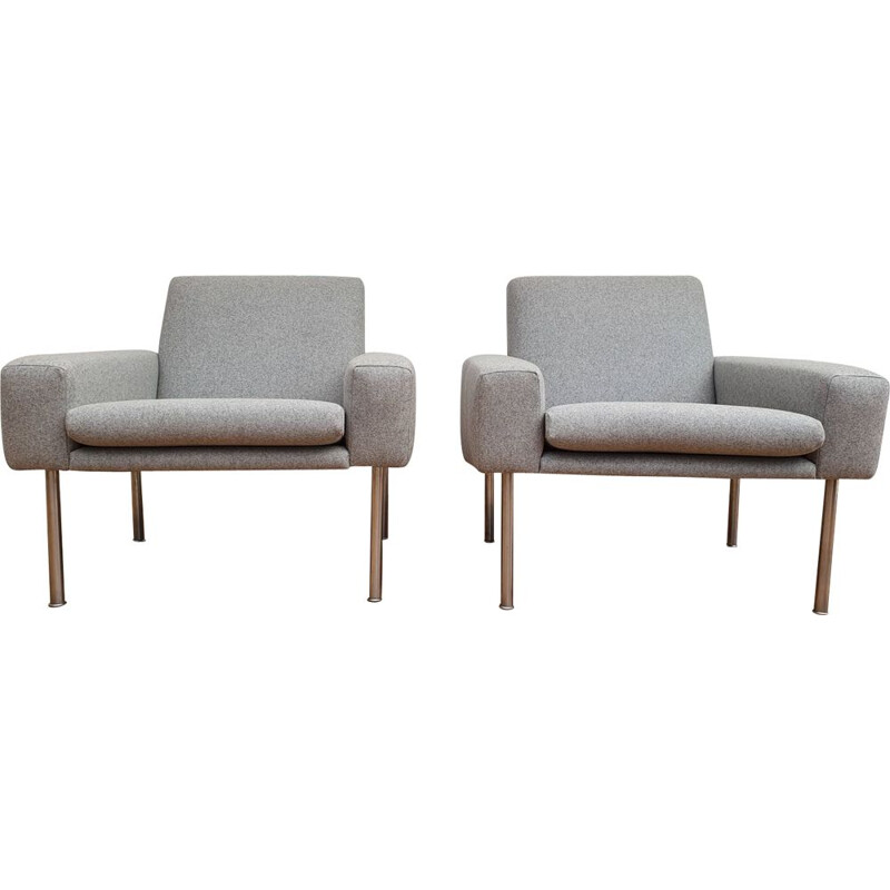 Pair of vintage Danish armchairs by Hans J. Wegner, 1960