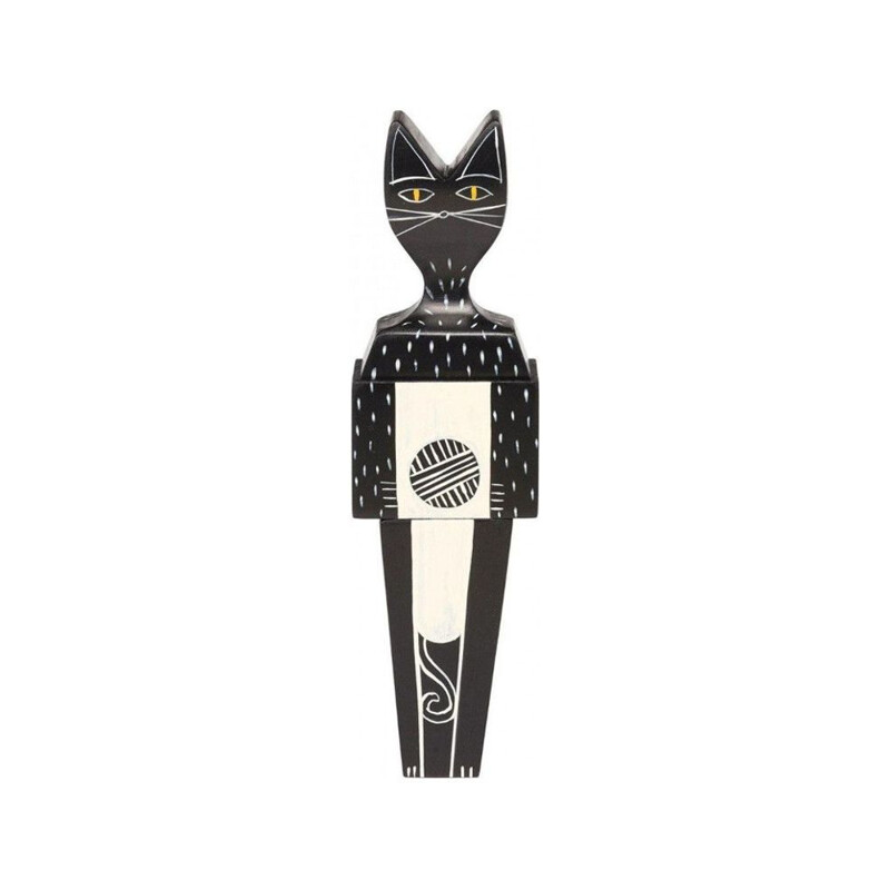 """""""Wooden Dolls Cat"""" by Alexander Girard pour VITRA."""