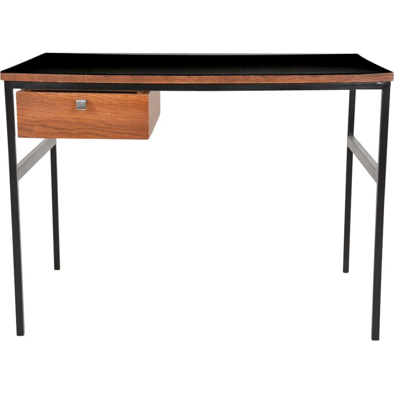 Vintage small desk by Pierre Paulin edition Thonet, circa 1960