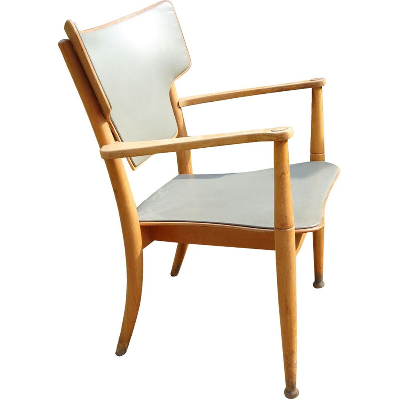 Vintage easy chair Portex no. 111 by Hvidt & Mølgaard 1940s