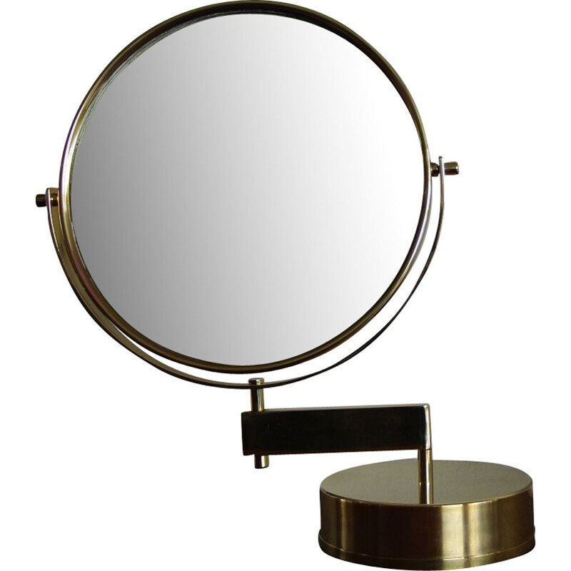 Vintage table mirror by Hans Agne Jakobsson 1960s