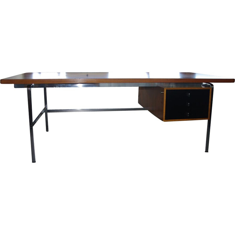 Vintage large desk by Fabricius & Kastholm for Afred Kill International 1960s