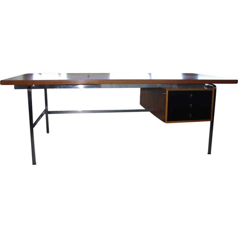 Grand bureau vintage par Fabricius & Kastholm pour Afred Kill International 1960s