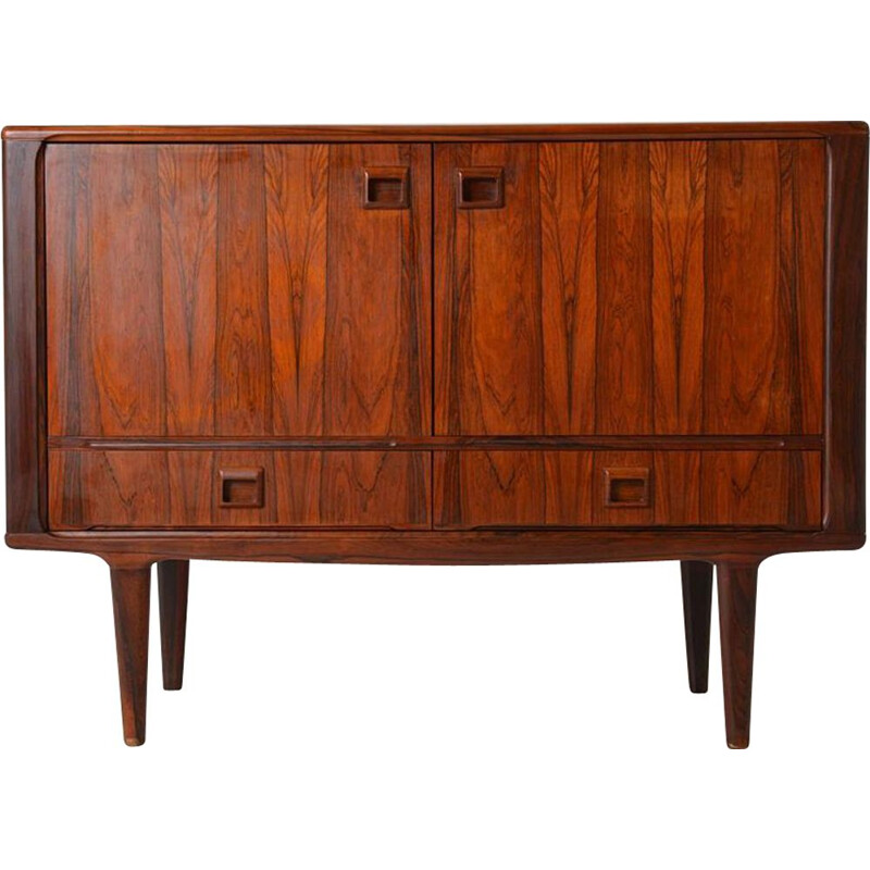 Vintage chest of drawers by Johannes Andersen in Rio rosewood Denmark 1960s