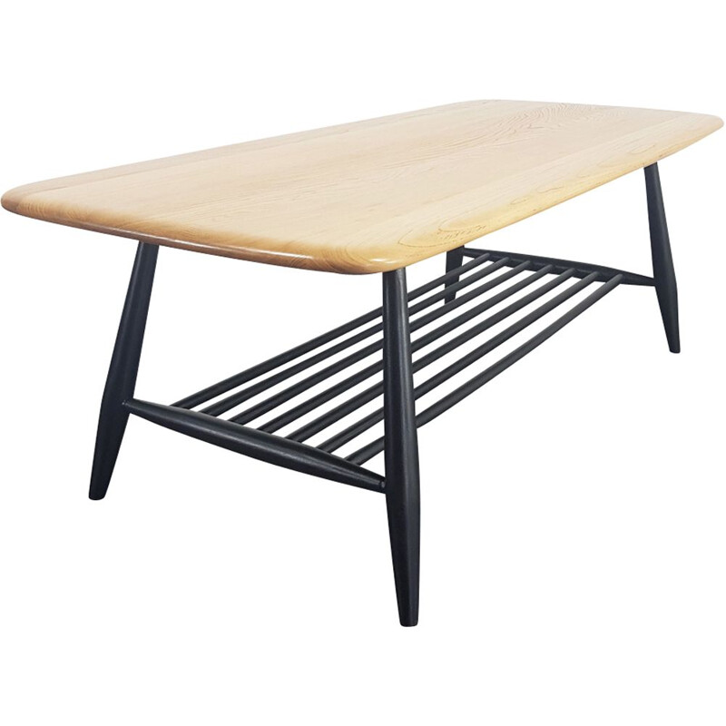 Vintage British coffee table by Lucian Ercolani for Ercol