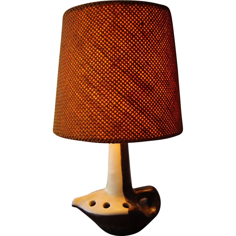 Vintage table lamp by Mado Jolain
