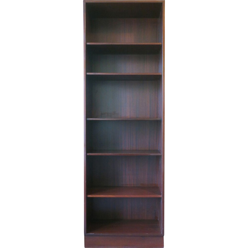 Vintage Narrow Bookshelf by Poul Hundevad 1980