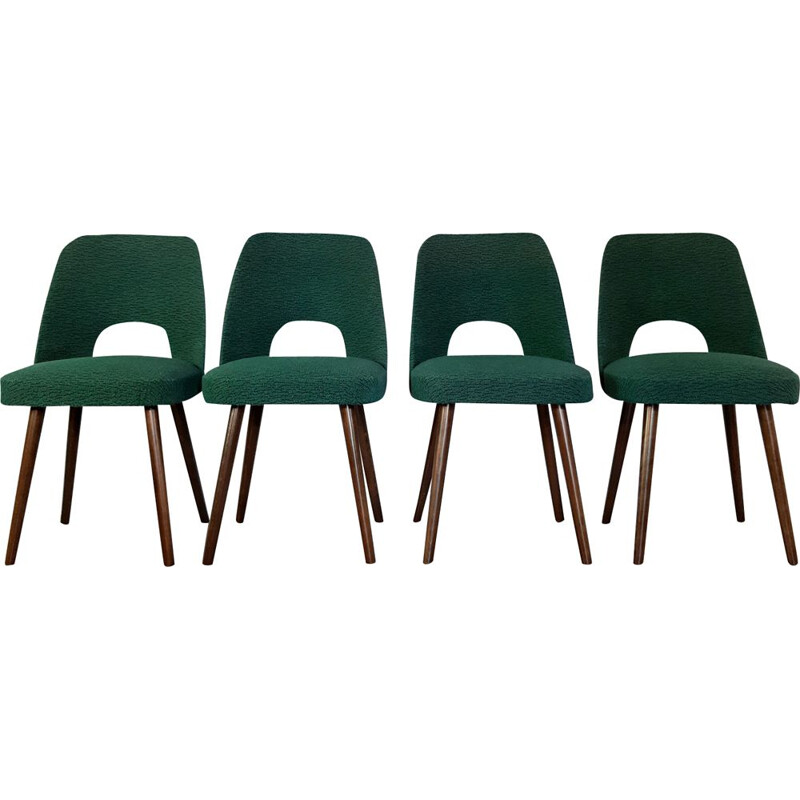Set of 4 chairs 5152 by Oswald Haerdtl for TON 1962