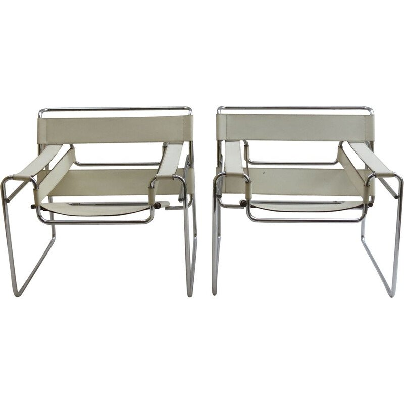 Vintage chair Wassily by Marcel Breuer for Gavinan Italy, 1968