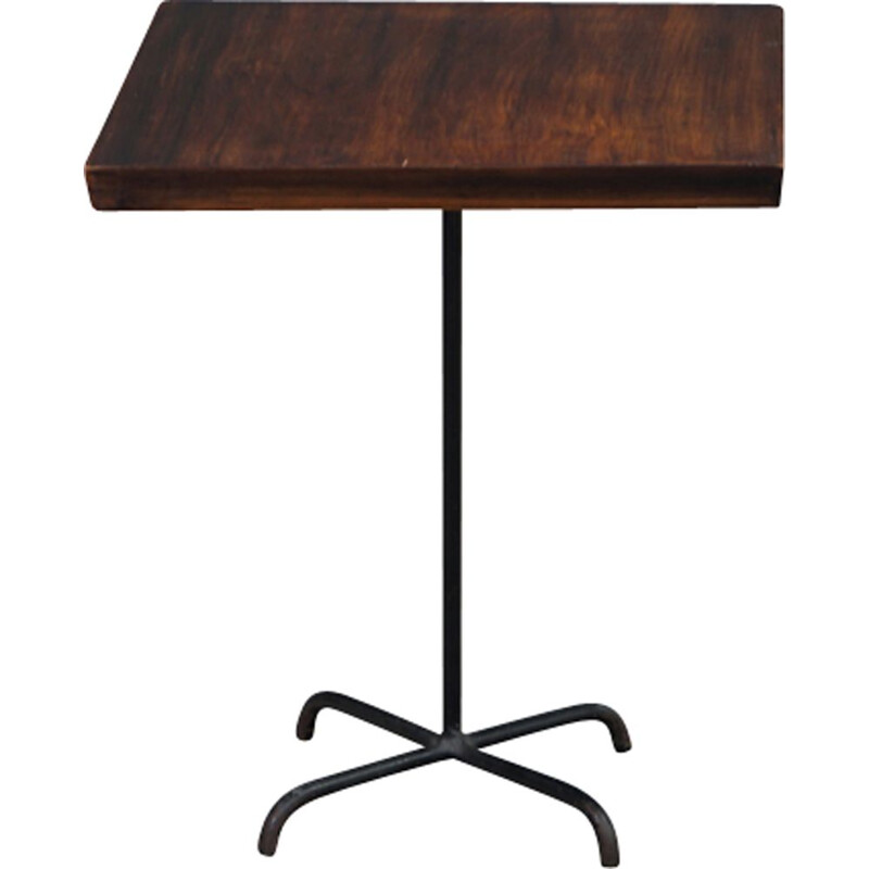 Rosewood side table by Carlo Hauner and Martin Eisler