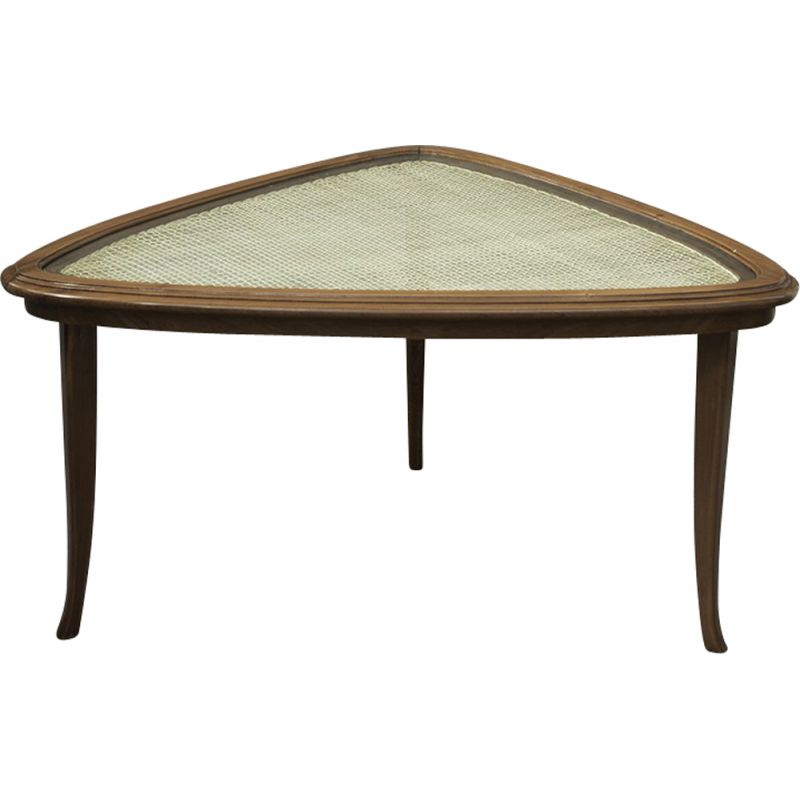 Vintage coffee table in rosewood by Carlo Hauner and Martin Eisler