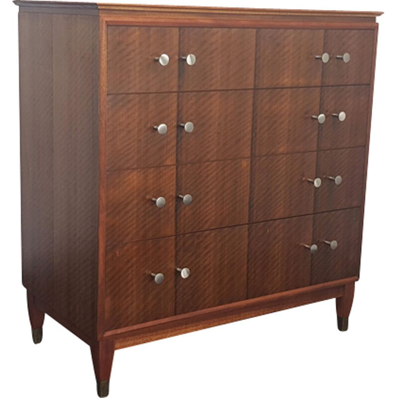 Tallboy chest of drawers in rosewood by Gimson & Slater