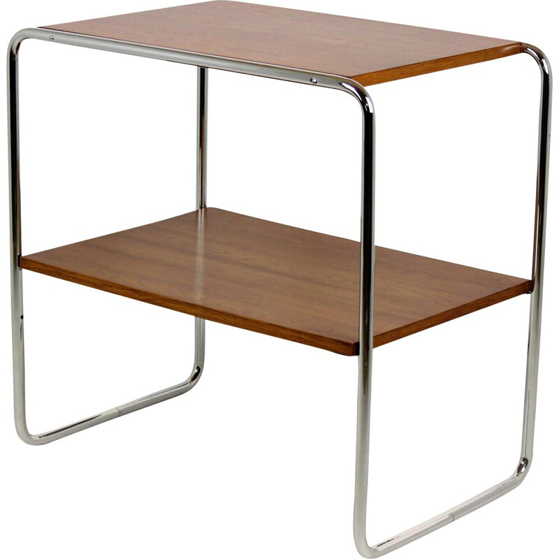 Vintage B12 console table by Marcel Breuer