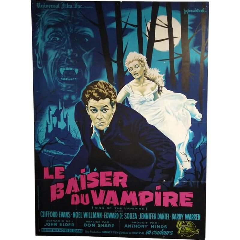 Vintage poster the kiss of the vampire