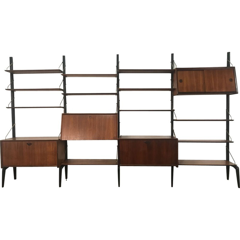 Vintage shelf by Louis Van Teeffelen for Vbwebe,1950