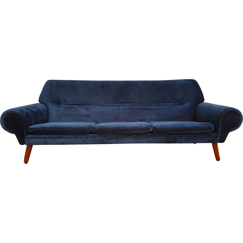 Vintage Kurt Østervig, Danish 3 seater sofa, model 14