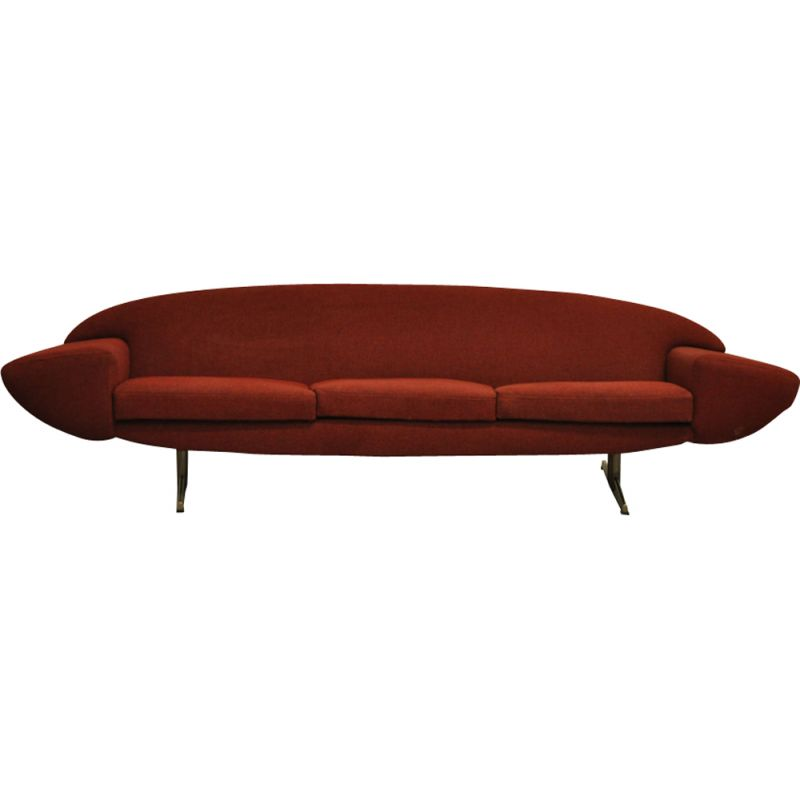 Vintage 3-seater sofa by Johannes Andersen for Trensum 1950s