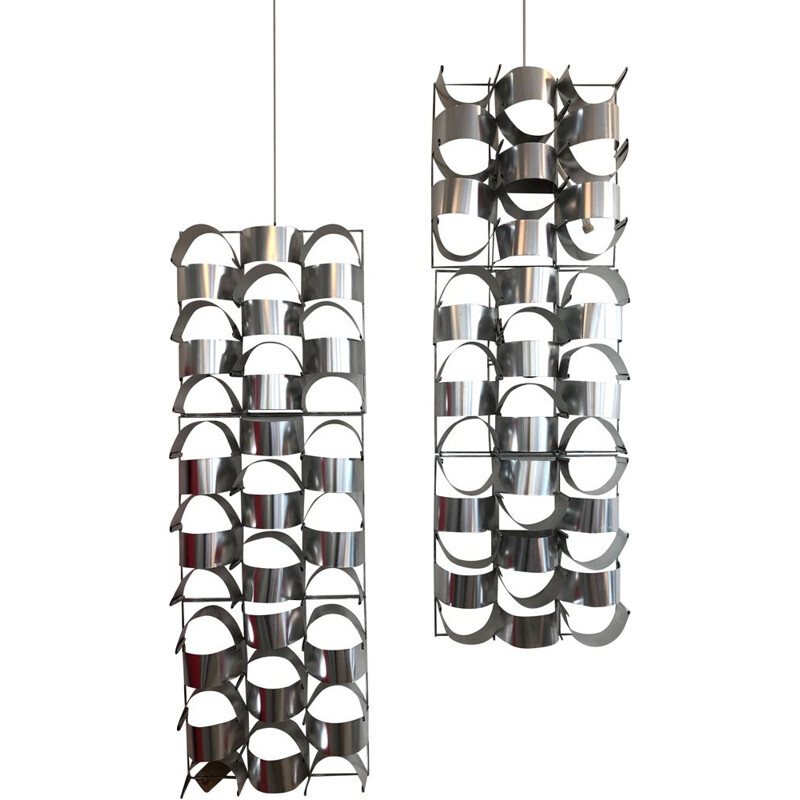 Pair of vintage wall lights by Max Sauze,1970