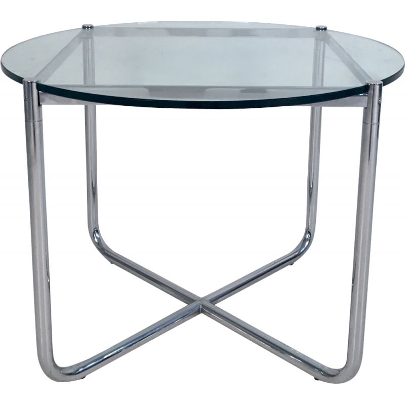 Vintage side table by Mies Van Der Rohe for Knoll