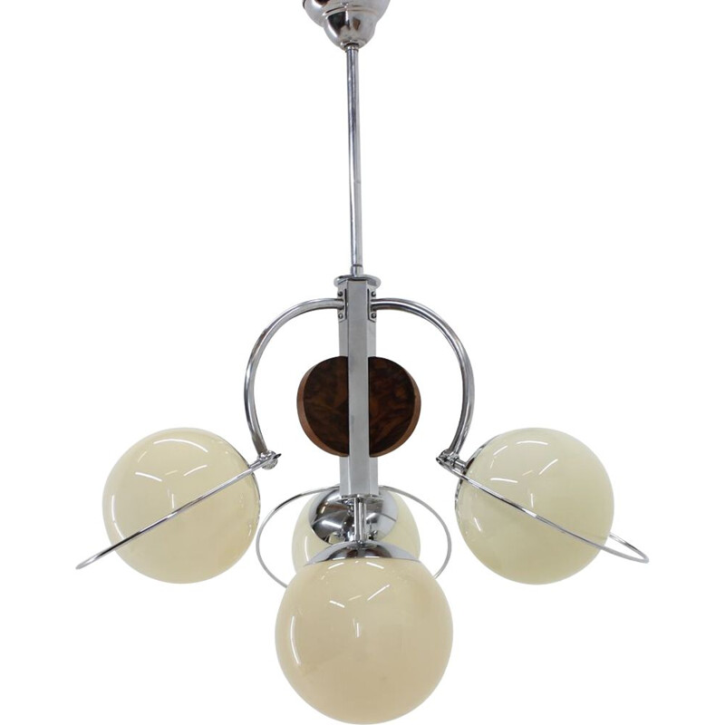 Vintage chandelier in Art Deco style from the 30s