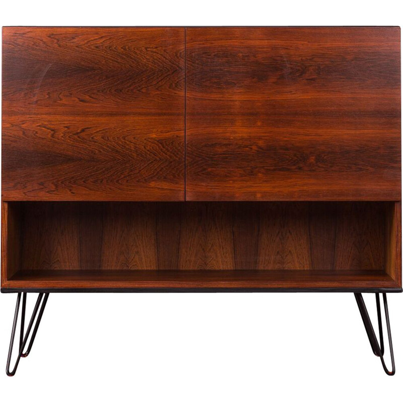 Vintage chest of drawers in rosewood from the 60s
