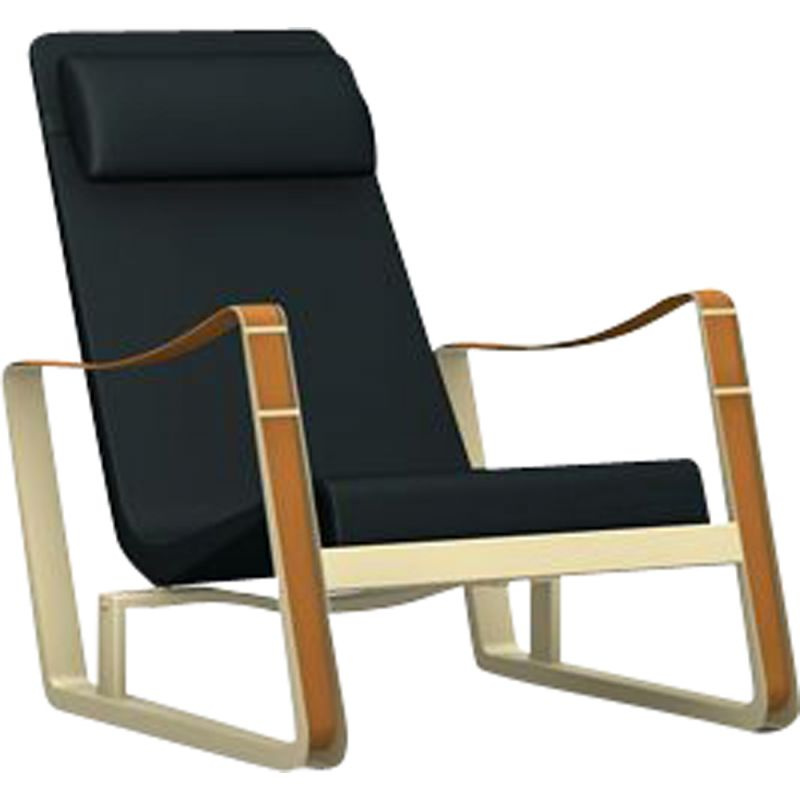 """Cité"" armchair in leather by Jean Prouvé for VITRA"