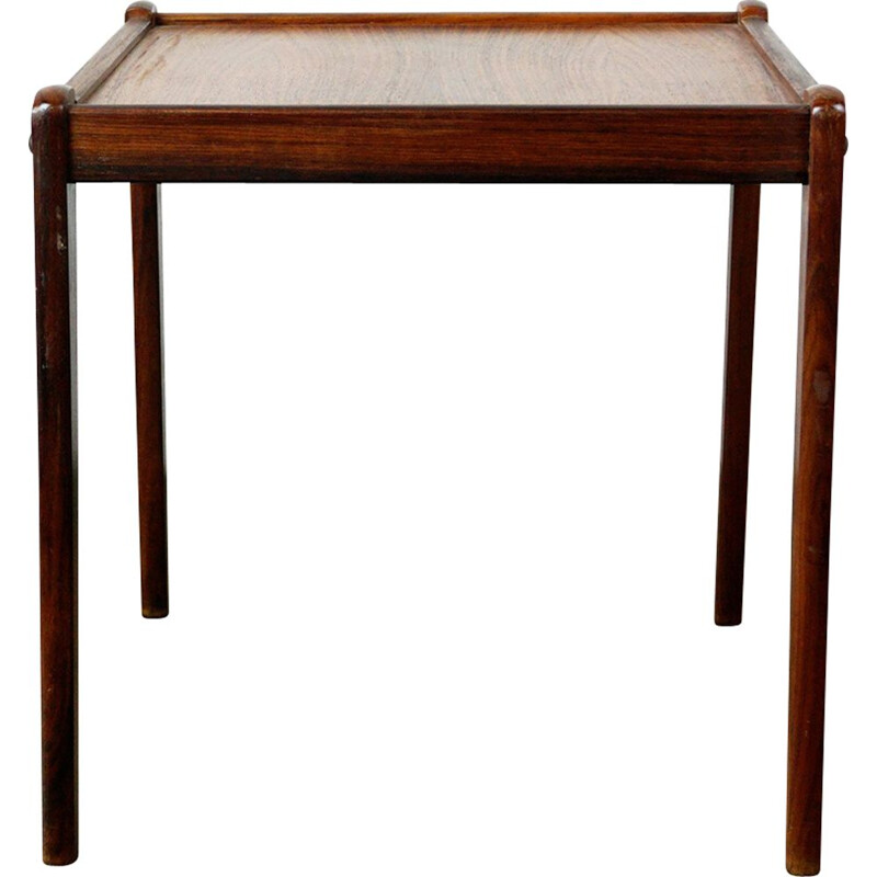 Vintage scandinavian side table for BRDR Furbo in rosewood 1960s