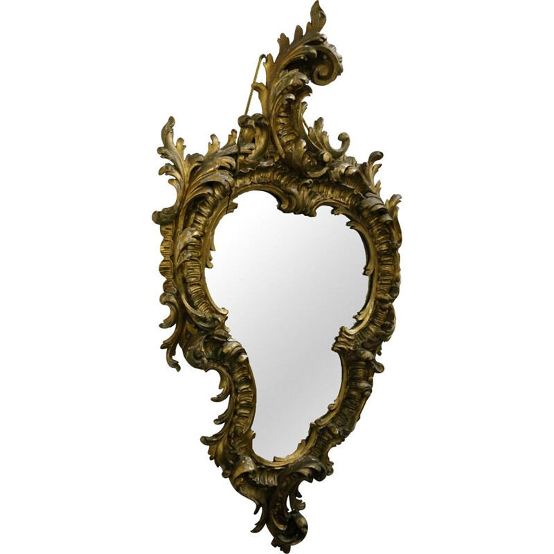 "Vintage ""Rococo"" mirror from the 30s"