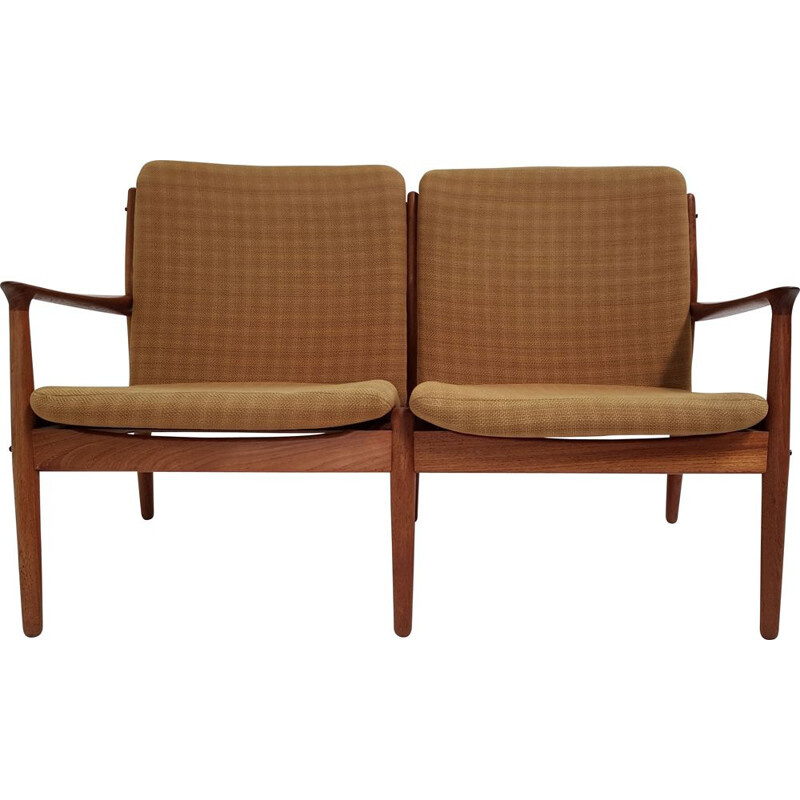 Vintage teak sofa by Arne Vodder for Glostrup
