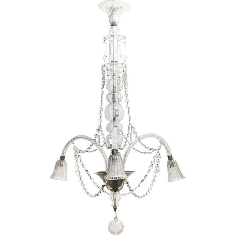 Vintage chandelier in Murano glass 1970s