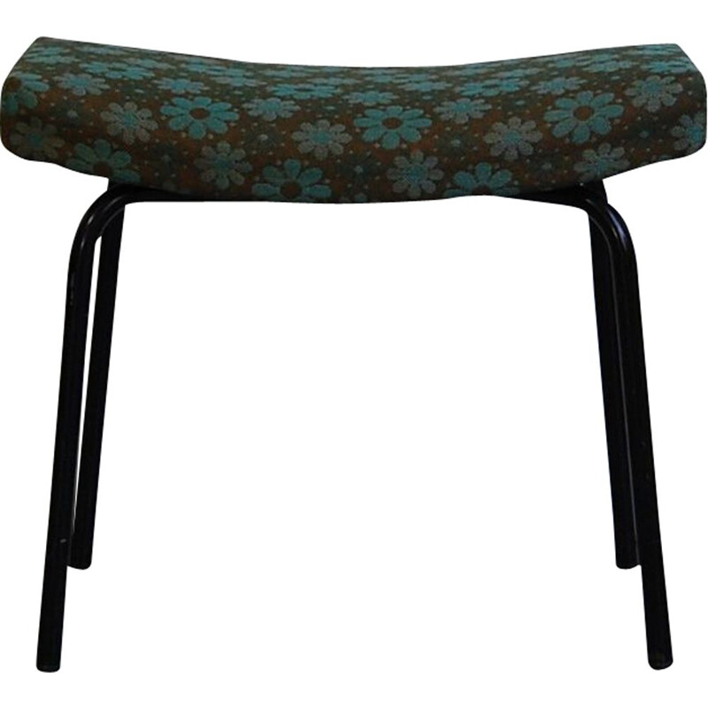 Vintage stool Taureau by Pierre Guariche for Meurop 1960s