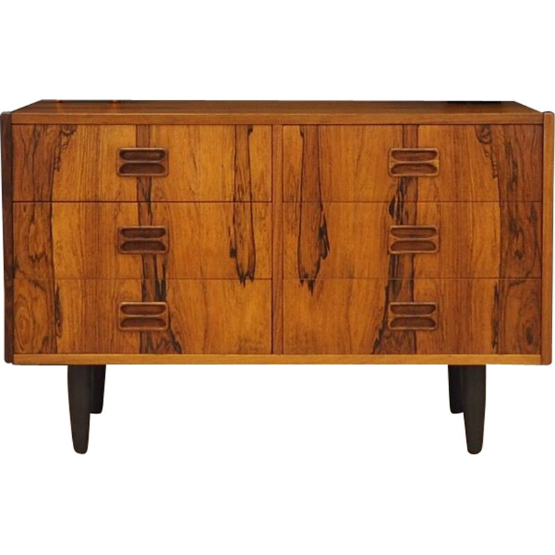 Vintage Rosewood chest Of Drawers by Niels J. Thorso 1960