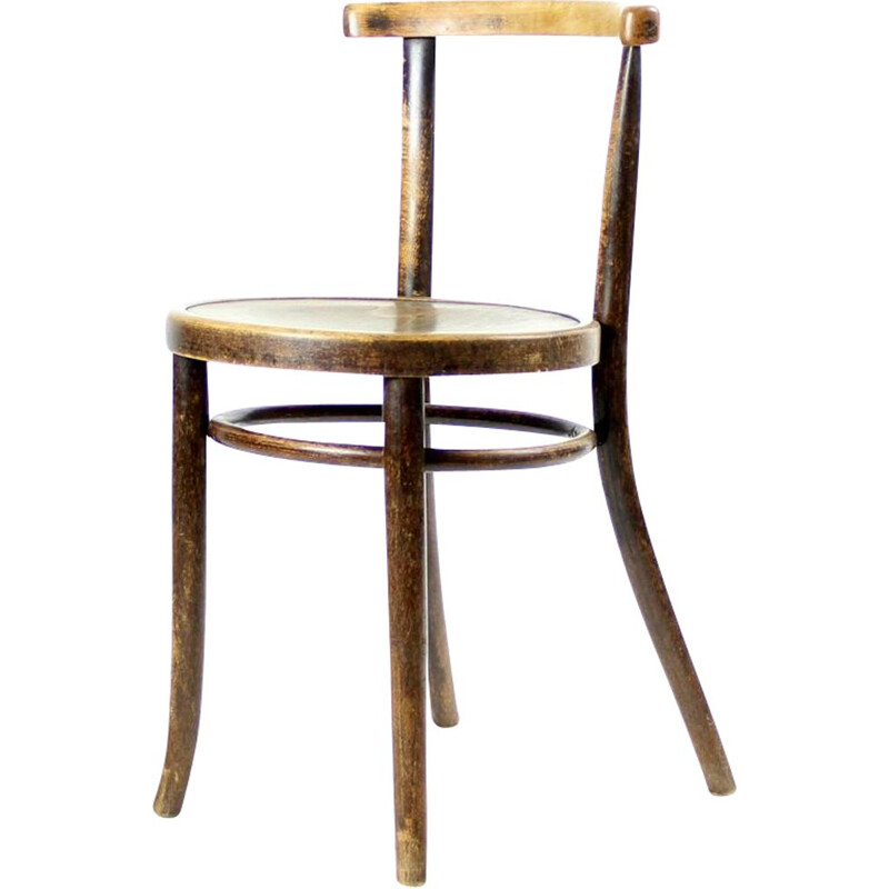 Vintage Thonet chair in oakwood 1930s