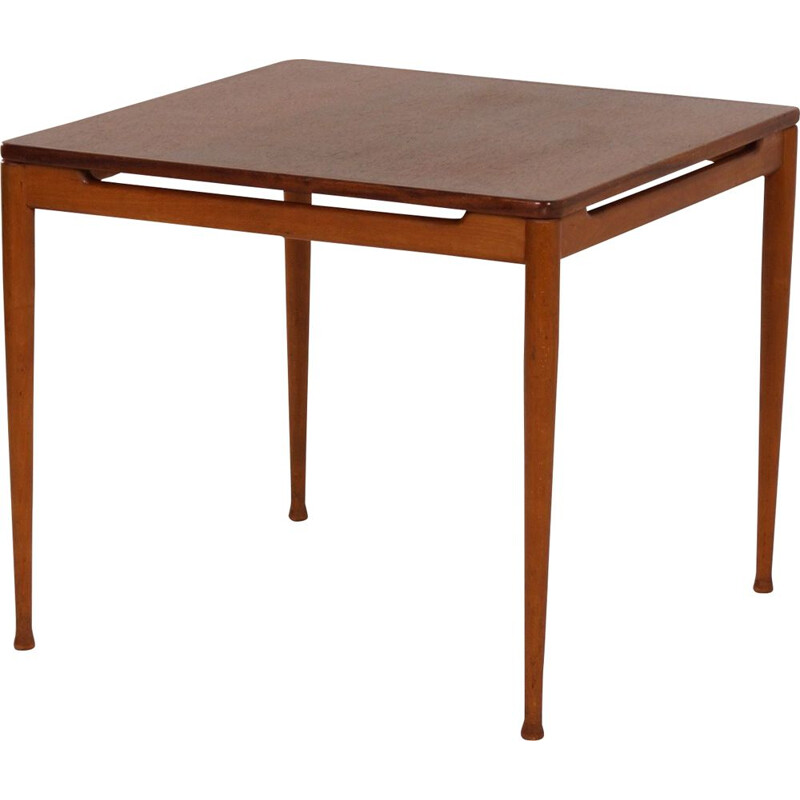 Vintage table in teak model 537 by Hartmut Lohmeyer for Wilkhahn, 1960s